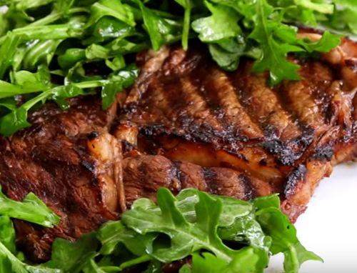 Steak in sos de salsa