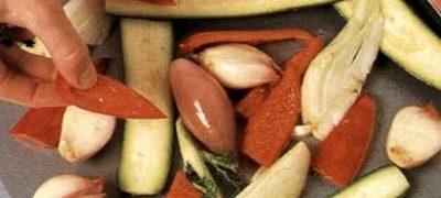 Legume la cuptor cu oregano si curry