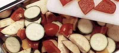 Musaca cu legume si mozzarella