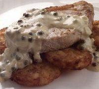 Creamy Mushroom Pork Chop