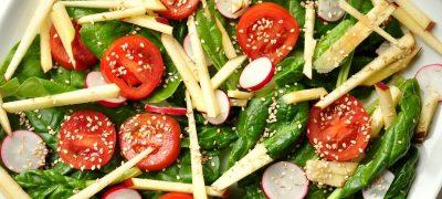 Salate simple si aromate pentru masa de Craciun