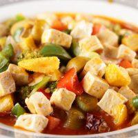 Salata cu carne de curcan