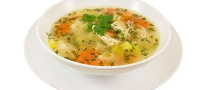 Supa de legume cu cimbru