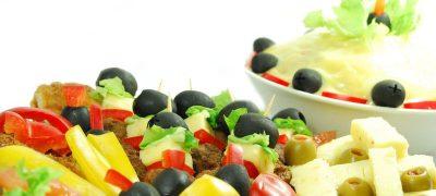 Salata de fructe cu frunze de menta