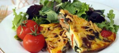 How to Make Veggie Breakfast Casserole