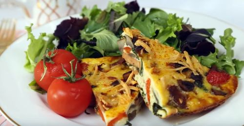 How to Make Veggie Breakfast Casserole