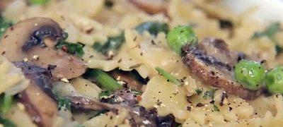 How to make Creamy Mushroom Pasta