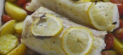 Merluciu cu spanac