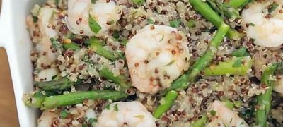 How to make One Pot Garlic Shrimp Quinoa