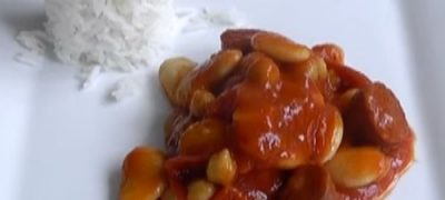 Beans and Potato Curry