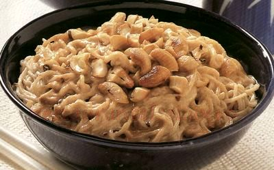 Noodles cu sos iute si legume