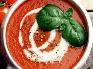 Supa simpla de rosii