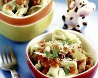 Tortelli umpluţi cu ficat de raţă şi mere in supă de ceapă