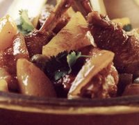 Chicken tagine with cinnamon