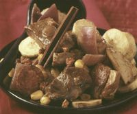 Pork and mushrooms
