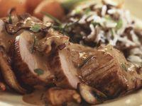 Mushroom chicken breast