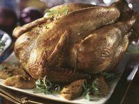 Roast chicken with artichokes