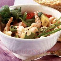 Salata de creveti cu rosii si avocado