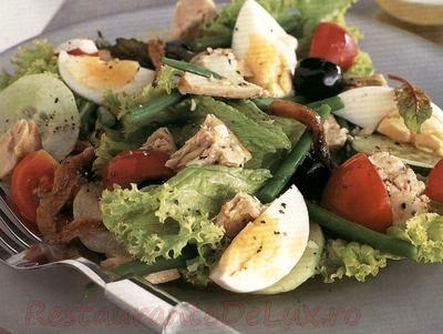 Salata de ton si oua