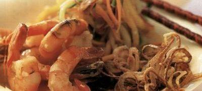 Texas style shrimps