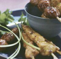 Kebab de porc cu curry