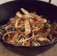 Stir-fry cu porc