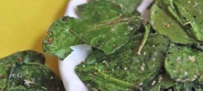 Spinach Salad with Peanut Salad Dressing