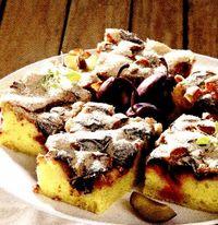 Prăjitură la tavă cu prune