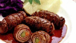 Ruladă din carne de vită in aluat