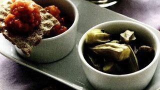 Salata de bame cu usturoi
