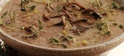 Supa delicioasa de ciuperci