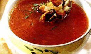 Supa de midii cu lamaie
