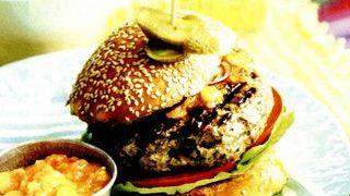 Burger cu carne de vita