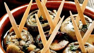 Ciuperci cu creveti si vin