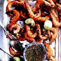 Creveti uriasi cu sos thailandez
