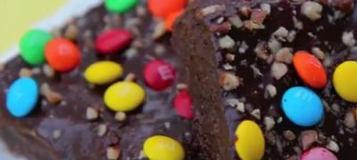 Flax Brownie-Cake