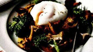 Mic dejun cu ciuperci