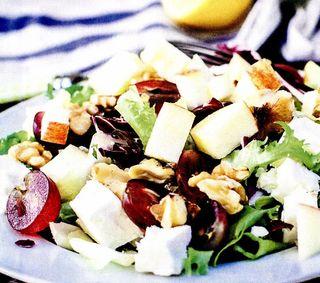 Salata de ciuperci cu struguri