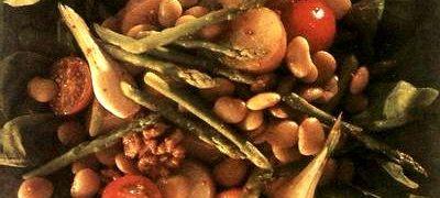 Salata de legume fierte cu usturoi