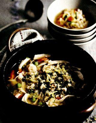 Supă de pui madras cu orez