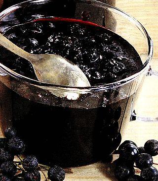 Dulceata din fructe de aronia