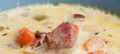 Supă ardelenească de cartofi cu tarhon