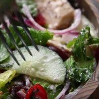Salata vegetariana de iarna