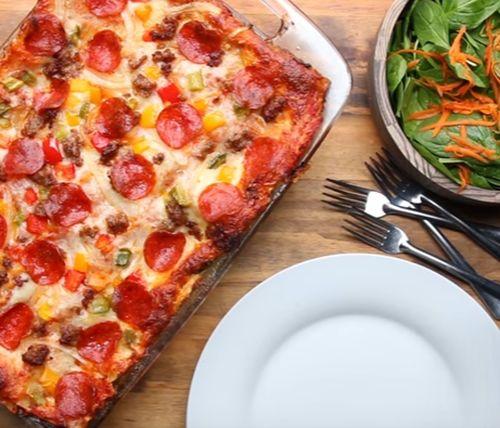 Reteta pizza cu de toate