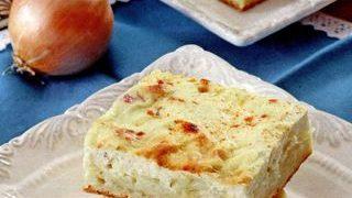 Plăcintă cu brânză si frisca