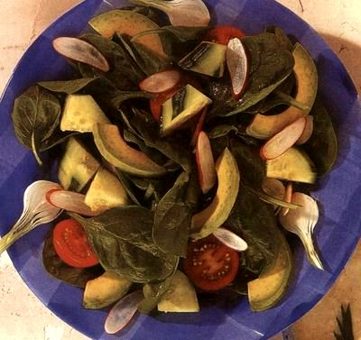 Salata de legume cu dressing picant