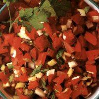 Salata de rosii cu coriandru