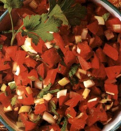 Salată de roşii cu grau
