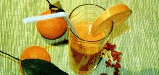 Suc energizant de goji si fructe exotice