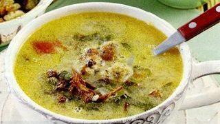 Supa cu ciuperci si crutoane de ciabatta